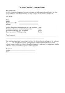 free 42 printable vehicle purchase agreement templates ᐅ templatelab auto sale form template