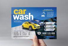 free car wash flyer template v2  psd ai & vector  brandpacks car wash menu template pdf