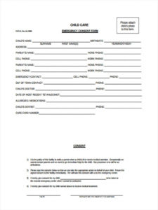 free free 8 sample emergency consent forms in pdf  ms word emergency medical release form template excel