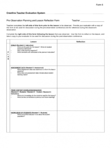 free teacher observation form  fill out and sign printable pdf template   signnow student observation form template sample