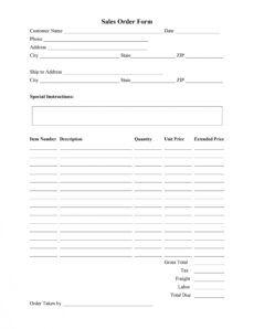 printable 40 order form templates work order  change order  more custom cake order form template pdf