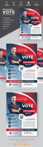 sample election poster graphics designs & templates from graphicriver presidential campaign poster template doc
