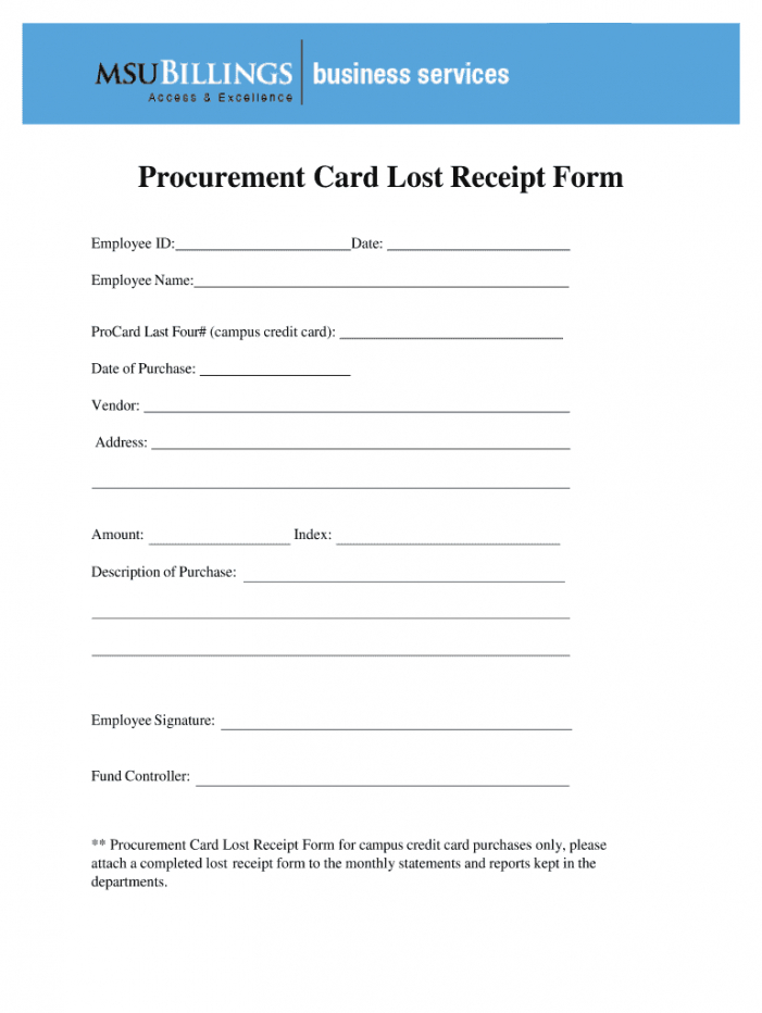 sample lost receipt form  fill out and sign printable pdf template  signnow missing receipt form template excel