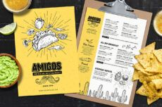 sample mexican restaurant menu templates in psd ai & vector mexican food menu template