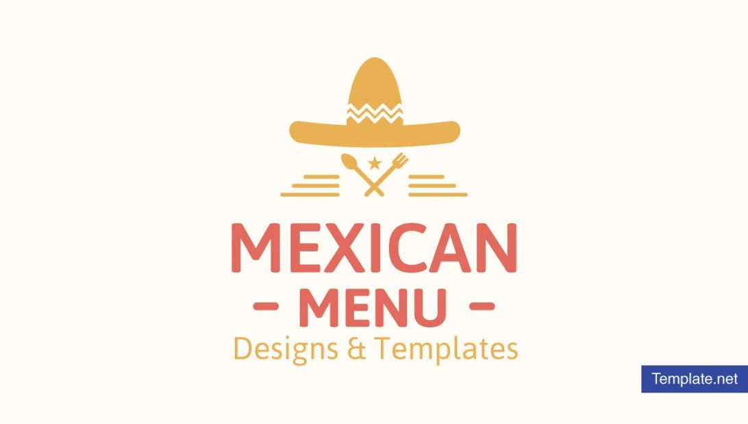11 mexican menu designs & templates  psd ai  free mexican restaurant menu template sample