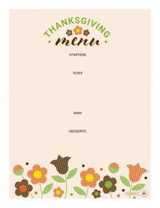 editable 35 awesome thanksgiving menu templates ᐅ templatelab thanksgiving day menu template