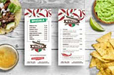 editable dl mexican restaurant menu card template in psd ai & vector mexican restaurant menu template example