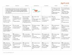 editable family friendly april monthly menu plan  your kid's table monthly food menu template excel