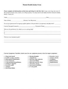 editable free 9 mental health providers intake forms in pdf  ms word mental health release of information form template sample