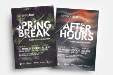 editable free nightclub flyer template  psd ai & vector  brandpacks nightclub poster template example