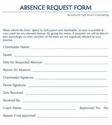 editable leave of absence form template ~ addictionary medical leave of absence form template