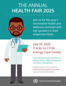 editable simple healthcare event flyer template health fair poster template