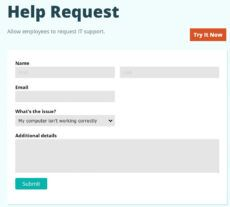 """free cognito forms en twitter """"it's template tuesday! quickly it support request form template excel"""
