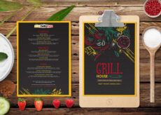 new grill house restaurant menu psd template bar and grill menu template doc