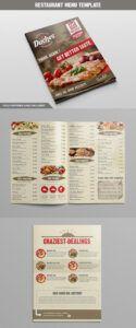 printable 27 plantillas para menú de restaurante con diseños creativos bar and grill menu template pdf