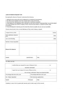 printable 43 free leave of absence letters work & school ᐅ templatelab medical leave of absence form template