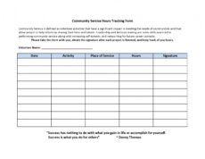 printable 44 printable community service forms ms word ᐅ templatelab school volunteer form template excel