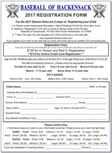 printable baseball player registration form template  vincegray2014 baseball registration form template example