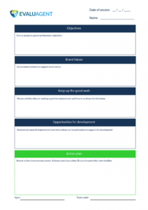 printable free call center 11 coaching form template  evaluagent employee coaching form template example