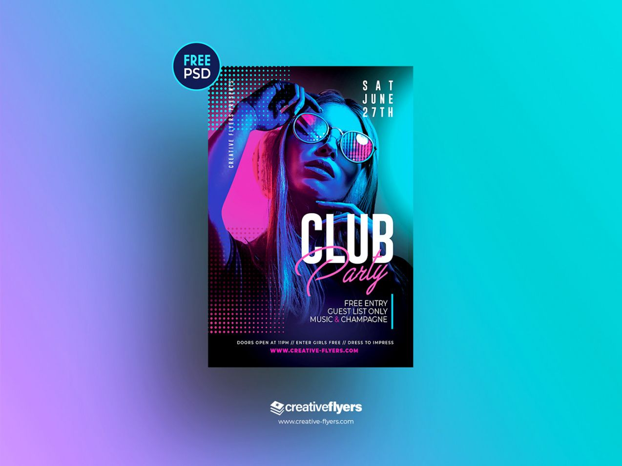 printable free psd flyer template for night club on behance nightclub poster template excel