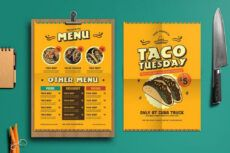 sample 50 best food & drink menu templates  design shack mexican restaurant menu template doc