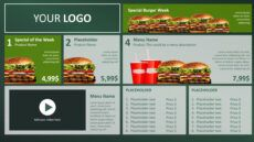 sample digital menu board powerpoint design • presentationpoint digital menu boards template excel