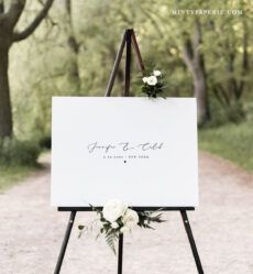 sample guestbook alternative poster minimalist wedding guest book wedding guest book poster template sample