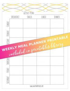 sample school lunch menu template ~ addictionary meal menu template