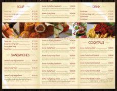 30 food menus templates for café and restaurants  ginva restaurant food menu template excel