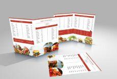 60 awesome restaurant menu templates design  utemplates restaurant food menu template example