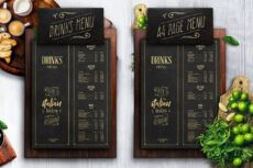 editable 50 best food & drink menu templates  design shack snack bar menu template pdf