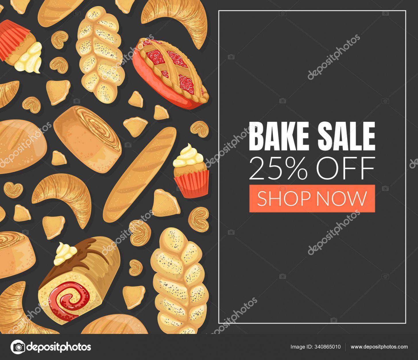 editable ᐈ bake sale poster templates stock vectors royalty free bake sale menu template word