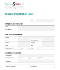 editable how to customize a registration form template ms word trade show registration form template excel