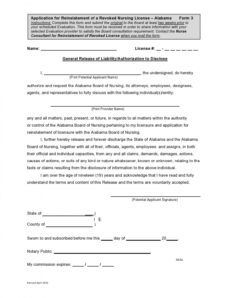 free 30 editable general release of liability forms free general liability release form template