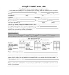 free 59 best massage intake forms for any client  printable facial client intake form template pdf