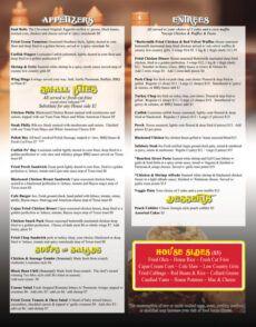 free menu west  cleveland's premier soul food destination!!! soul food menu template sample