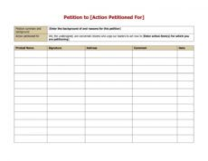 printable 30 petition templates  how to write petition guide petition signature form template