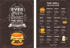 printable top 42 free restaurant menu psd templates & mockups 2020 sports bar menu template excel