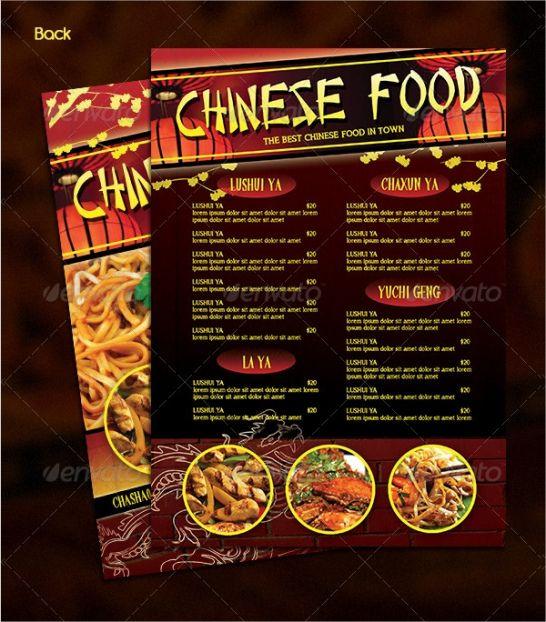 sample 20 chinese food menu designs & examples  psd ai docs chinese restaurant menu template word