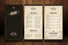 sample 32 bar menu designs  free & premium templates snack bar menu template excel