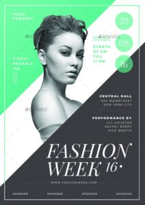 sample fashion show flyer  emmamcintyrephotography fashion show poster template