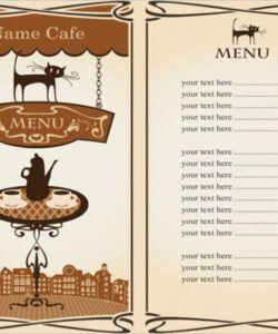 Best Cheese Menu Template Excel Example