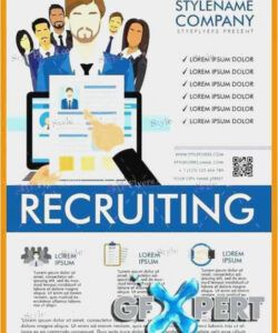 Best Now Hiring Poster Template Excel