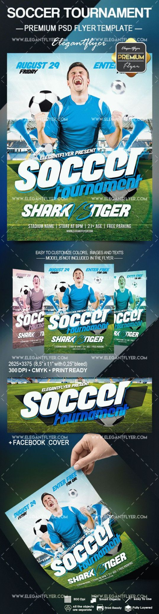 editable soccer tournament  flyer psd template elegantflyer soccer tournament poster template doc