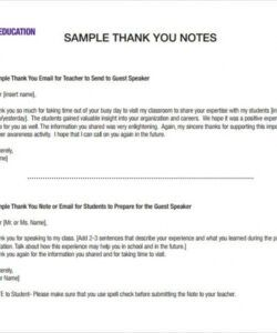 Editable Speaker Request Form Template  Sample