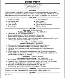 Editable Truck Driver Employment Application Form Template