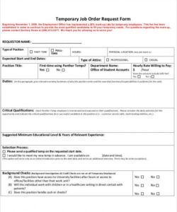 Employment Agency Application Form Template Doc Example
