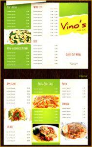 free 6 takeaway menu design templates  fabtemplatez takeaway menu template example