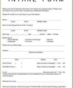 Free Esthetician Consultation Form Template Word Example