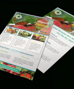 Free Farmers Market Poster Template Doc